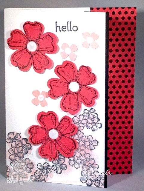 Stampinup Birthday Blossom Card Instructions Sandi Loves Stamping