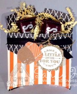 9-25-15 Square Pillow Box Halloween Treat