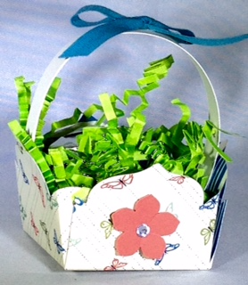 4-5-16 Floral Framelits basket