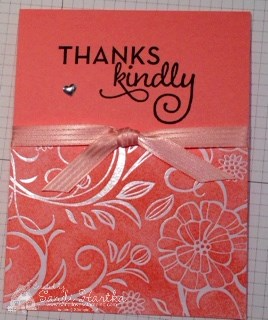6-25-16 Irresistably Floral completed card
