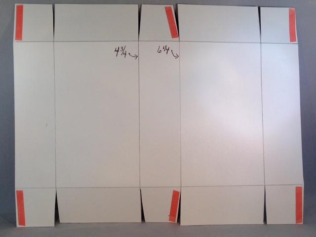 Cardstock scoring & cutting