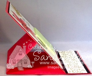 1Easel notepad side view