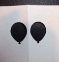 Balloon copy paper template