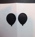 Balloon copy paper template