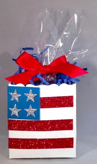 7-4-15 flag treat bag