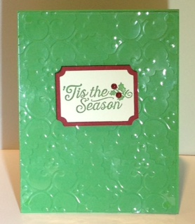 Window sheet card - completed
