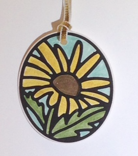 Stained glass timeless tag
