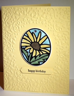 Stained Glass Timeless Tag card