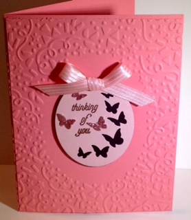 Butterflies card
