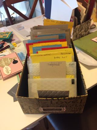 Folder storage and id2