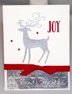 10-8-18 Deer card