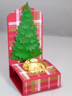Christmas treat holder