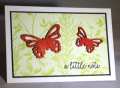 Butterfly elements notecard - with color