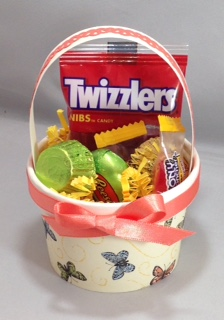Easter basket sweetie cup
