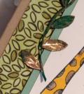 Gold leaf trim