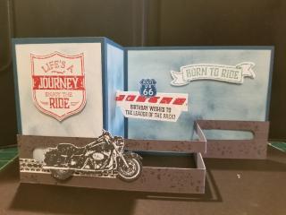 Wendy conlon 3D motorcycle