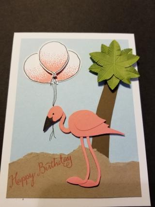 Wendy conlon flamingo balloons