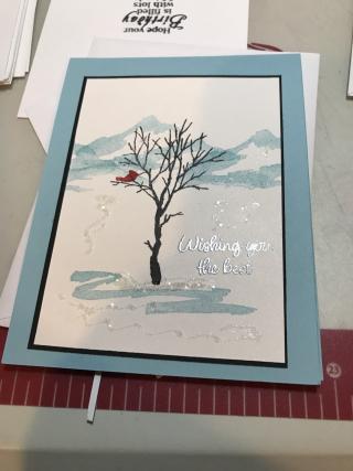 Lynne hecko winter tree