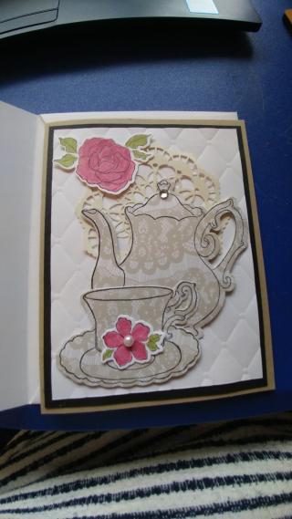 Val & Steph Lacoste - mothers day tea invitatino