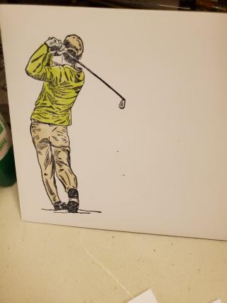 Barb howe golfer enb