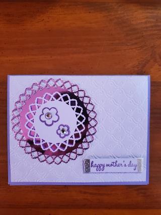 Stephay casper purple flowers