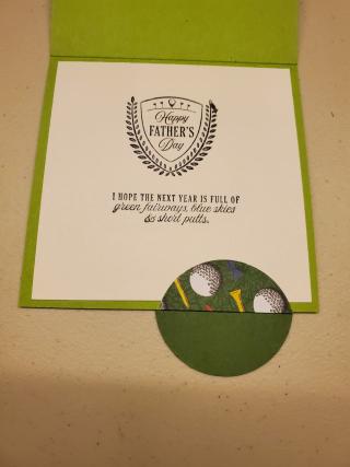 Barb golf card