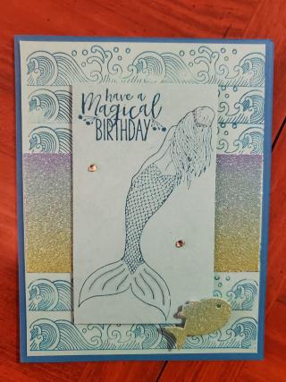 Stephany casper mermaid w border
