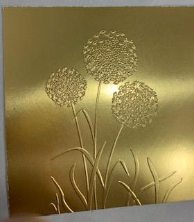 Foil dandelion