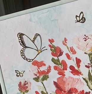 Butterflies sun